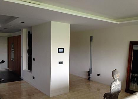 Vista parcial del salón