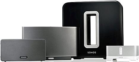 Sistema de audio inalámbrico de Sonos