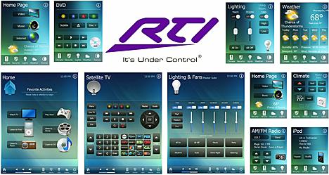 Pantillas para pantallas RTI, equipos iPad, iPhone y Android
