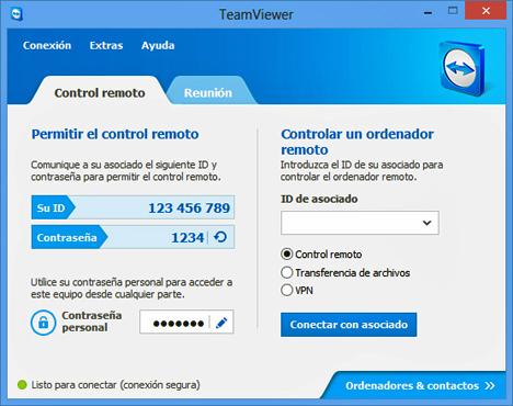Última versión de TeamViewer
