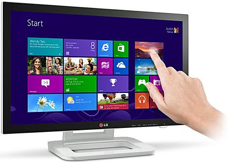 Monitor Touch 10 de LG