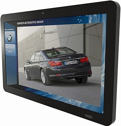 Panel PC táctil gama Warm Touch de AOpen distribuido por Diode