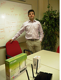 Javier Herrero, Pre-sales Technical Consultant en TP-LINK Iberia