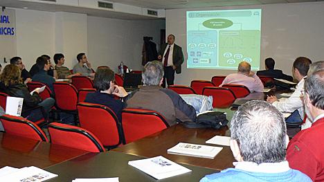 Celebración del seminario KNX España en la Federación Aragonesa de Instaladorse Electricistas