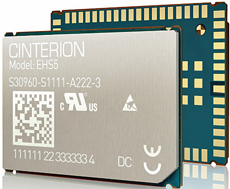Módulo de comunicación M2M de Cinterion