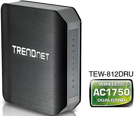 Router inalámbrico modelo TEW-812DRU de TRENDnet