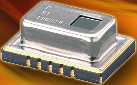 Sensor infrarrojo Grid-EYE de Panasonic Electric Works, distribuido por Avnet Abacus