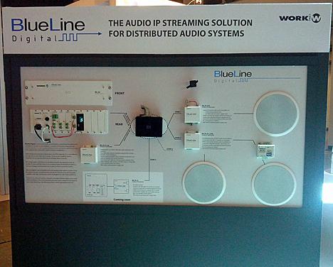 Sistema de audio distribuido Blueline Digital