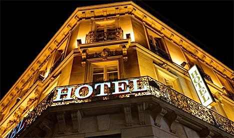Hotel con sistemas CCTV de Scati