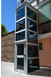 Elevador vertical Evectum, de Válida Sin Barreras