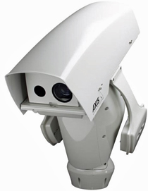 nueva cámara de red AXIS Q87-E Dual PTZ