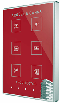 Pulsador personalizable Touch-MyDesign