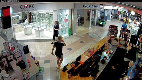Imagen capturada por una de las cámaras IP de LILIN instaladas en un centro comercial australiano