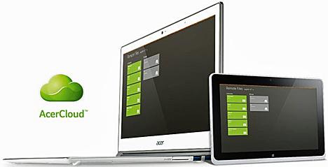 Soporte multi-plataforma AcerCloud de Acer
