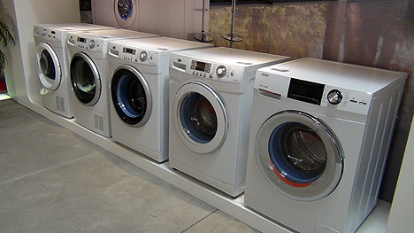 Nueva serie de lavadora Intelius
