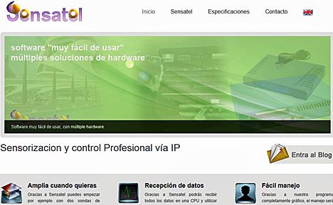 Nueva web de Domodesk para el producto Sensatel/Inmostel