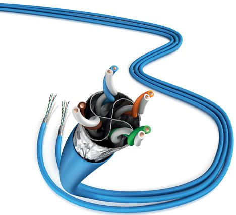 Cable LAN Actassi CL-MX de Schneider Electric