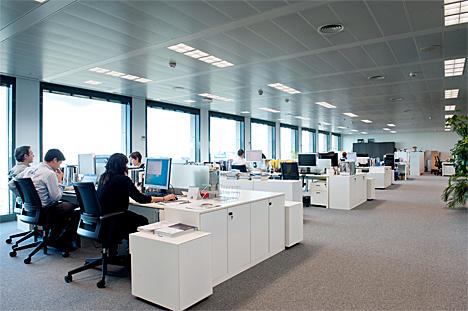 Oficina de la sede social de Philips