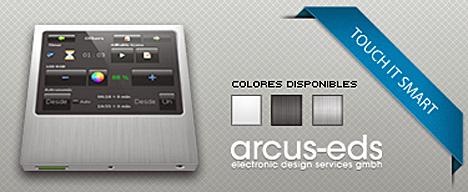 Panel táctil Touch IT Smart de ARCUS.