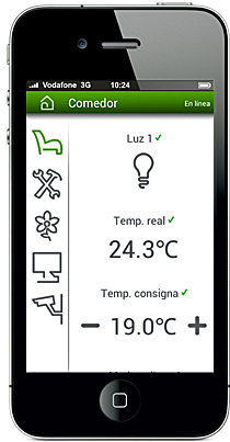 Aplicación See Home 2.0 de Schneider Electric
