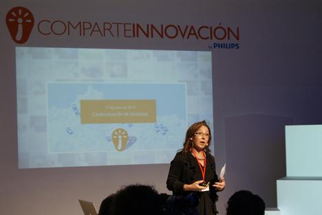 Ángeles Barrios, Directora de Comunicación y Relaciones Externas de Philips Ibérica.