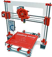 Impresora 3D de Cooking Hacks