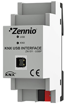 Interfaz KNX-USB de Zennio