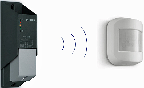 Detector de movimiento inalámbrico OccuSwitch Wireless de Philips