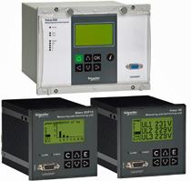 Relés de protección VAMP 50 de Schneider Electric