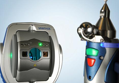 Medición en 3D con FARO TrackArm