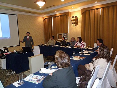 Uno de los seminarios impartido por ISDE Ecuador