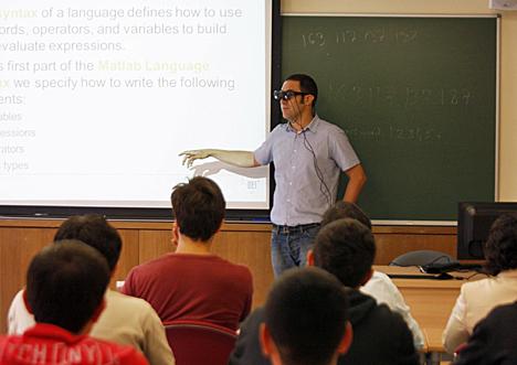 Gafas inteligentes para profesores