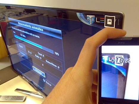 Uso de la realidad aumentada en el Proyecto TAHODI