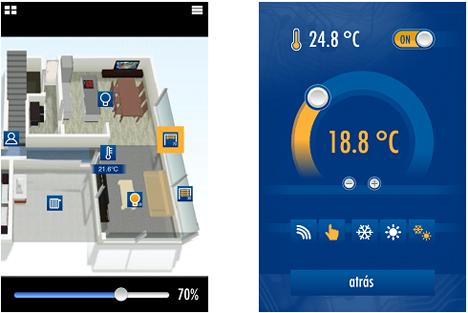 App de Ingenium para control de instalaciones BUSing