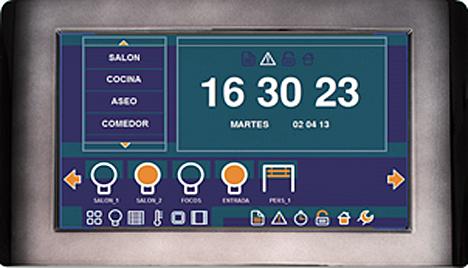 Interfaz gráfica para el control de instalaciones BUSing de Ingenium