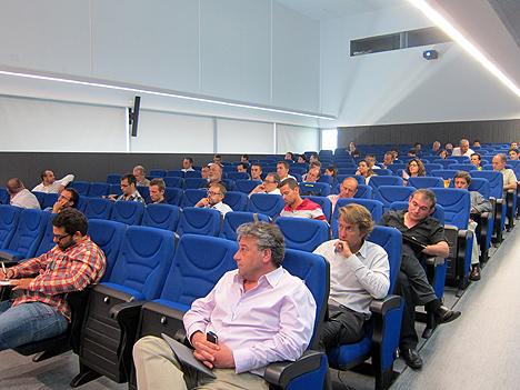 Asistentes a la Jornada CASADOMO celebrada en Valencia