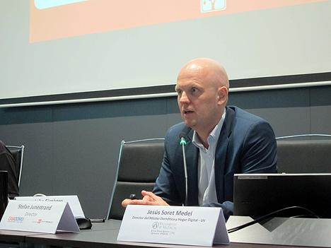 Stefan Junestrand, Director de Grupo Tecma Red, durante su intervención