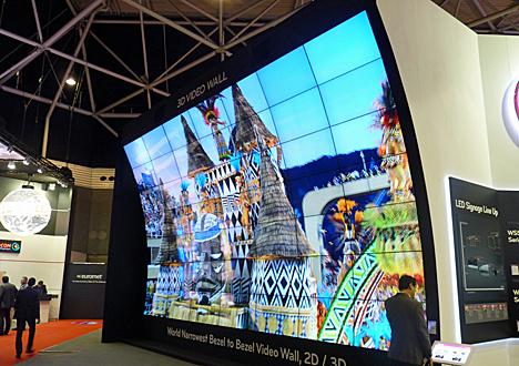 Videowall 3D de LG