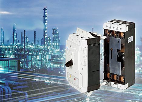 Base enchufable para interruptor NZM3 de Eaton