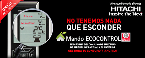Eco Control de Hitachi
