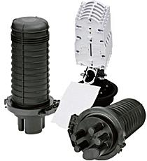 Protectores de empalmes ópticos de C3, Cables y Componentes