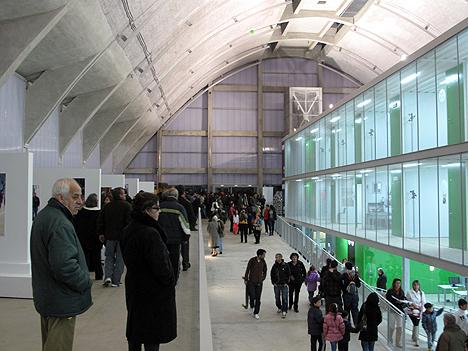 Edificio Embarcadero de Cáceres por dentro
