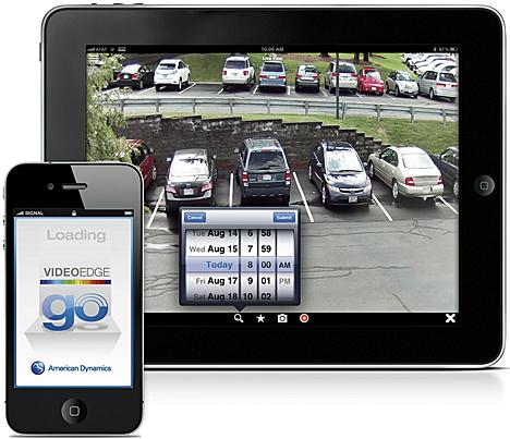 Aplicación VideoEdge Go de Tyco