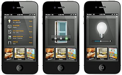 Control de las soluciones Wulian Smart Home desde un smartphone