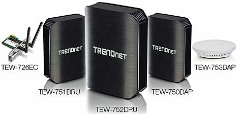 Línea de productos inalámbricos N600 de TRENDnet