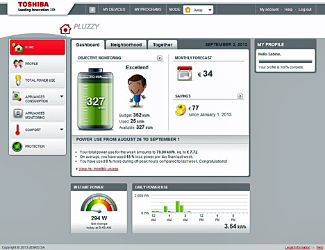 Software del sistema Pluzzy