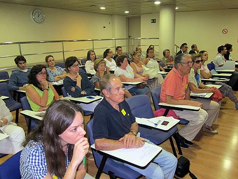 Asistentes al XIV Encuentro Temático de la FAE