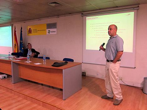 Ángel Martín presenta la parte de seguridad del proyecto