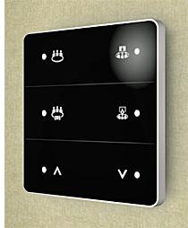 Interfaces táctiles Antumbra Touch de Philips Dynalite