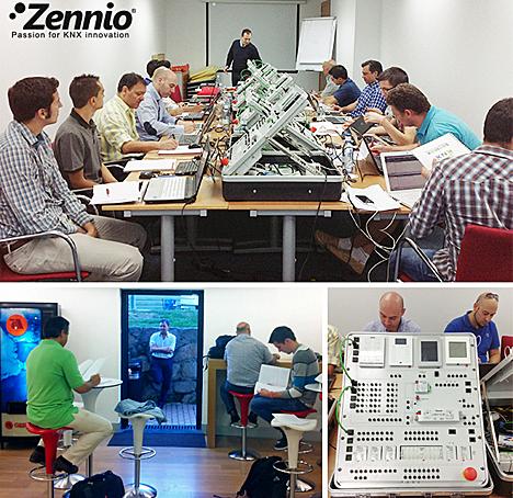 Cursos KNX Partner y Advanced de Zennio